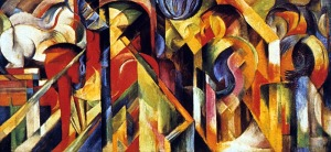 10-Expressionism-Marc-Stables (1913)